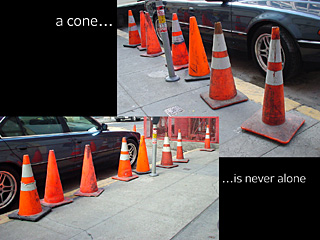 be the cone that you want to see